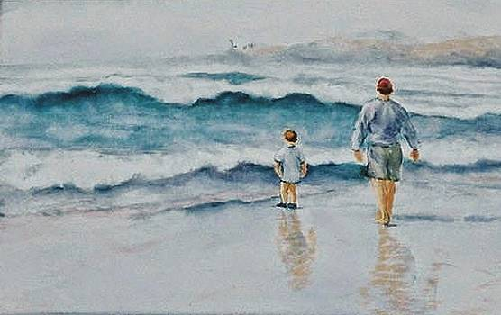 Watching the Waves Roll In by Ruth Mabee