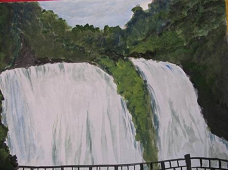 Water Fall 6 by Ram Reddy Sudi Reddy