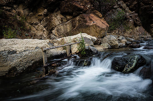Water  flowing in a river  by Michalakis Ppalis