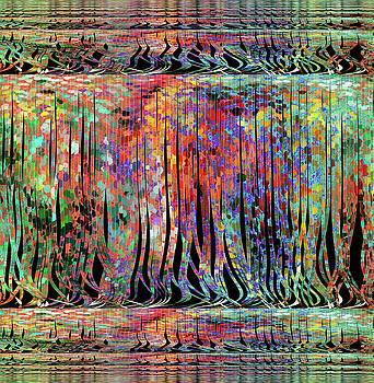 Waterfall of Colors by Grace Iradian