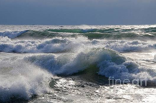 Waves of Superior by Sandra Updyke