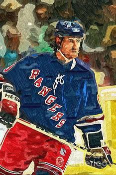 Wayne Gretzky by Max Cooper