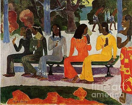 Gauguin - We Shall Not Go To Market Today