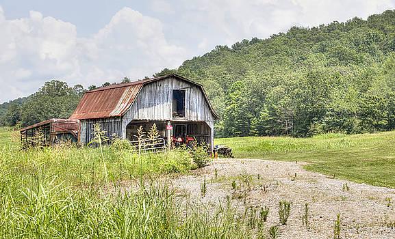 Weathered Barn by Laura Greene