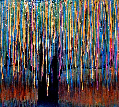 Weeping willow by Monica Furlow