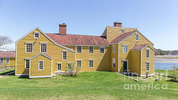 Wentworth-Coolidge Mansion by Edward Fielding
