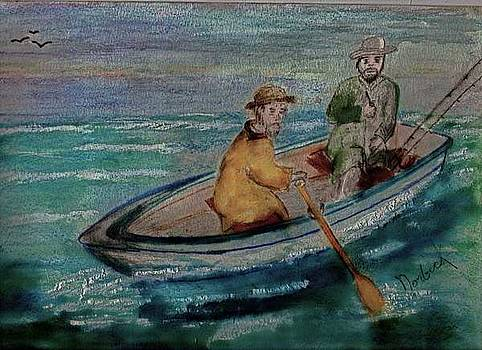 We're Fishing by Thomas J Norbeck