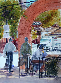 West End Arch at Ross by Ron Stephens
