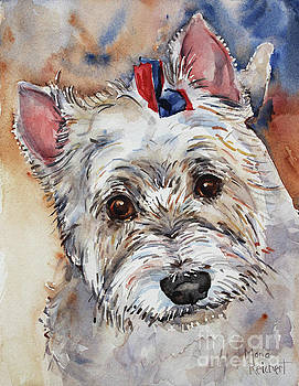 West Highland Terrier by Maria's Watercolor