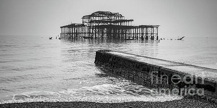 West Pier at Brighton by Colin and Linda McKie