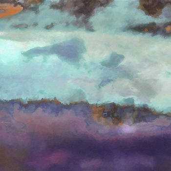 Ricki Mountain - What-a-Color Art Series - Abstract Landscape Art