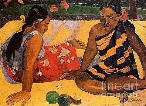 Gauguin - What