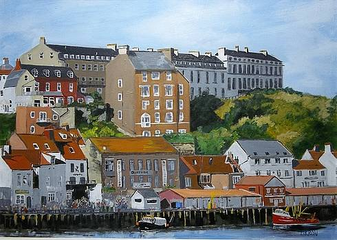 Whitby Harbour by Fred Urron