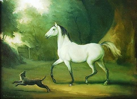 White Horse by Michael Chesnakov
