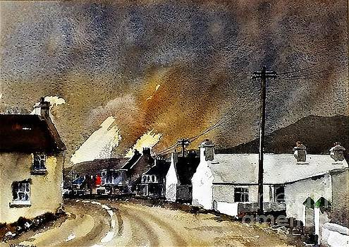 Val Byrne - White Houses of Achill Mayo