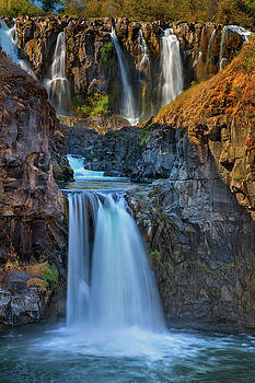 White River Falls State Park by David Gn