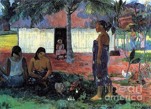 Gauguin - Why Are You Angry