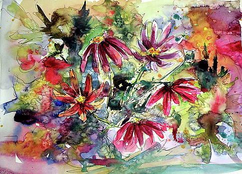 Wild flowers by Kovacs Anna Brigitta