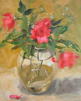 Wild Roses by Margaret Aycock