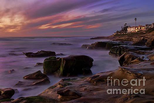 WIndansea Beach At Dusk by Eddie Yerkish