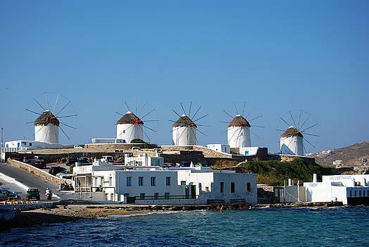 Harvey Barrison - Windmills of Mykonos