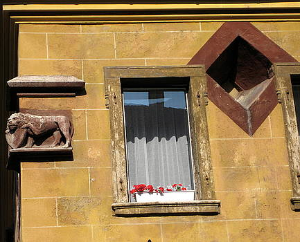Windows to Budapest by Judith Morris