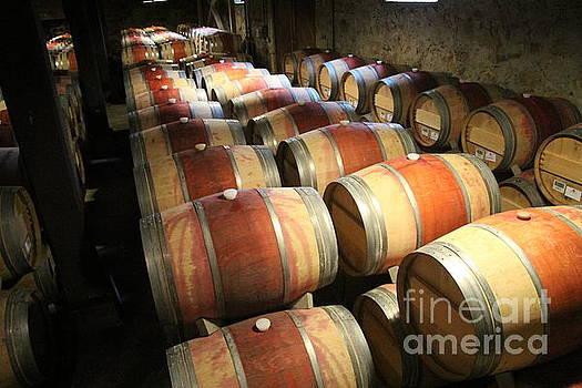Wine Barrels by Anthony Jones