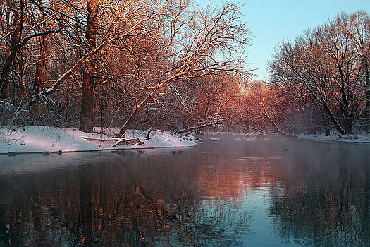 Winter Glow by Rob Blair
