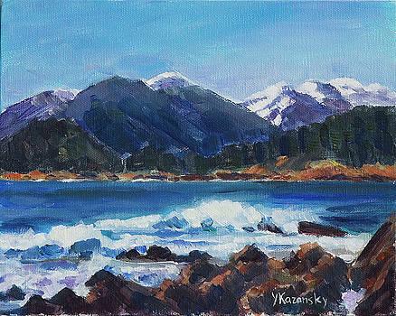 Winter Mountains Alaska by Yulia Kazansky