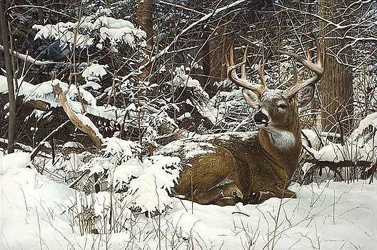 Winter Retreat by Bob Travers