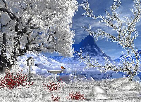 Winter Scene by John Junek