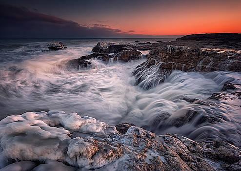 Winter sea by Evgeni Ivanov
