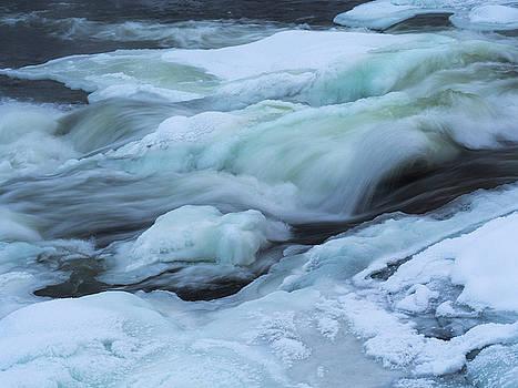 Winter Waterfall by Tamara Sushko