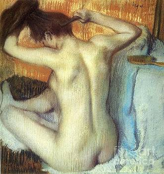 Degas - Woman Combing Her Hair