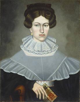 Erastus Salisbury Field - Woman Holding a Book
