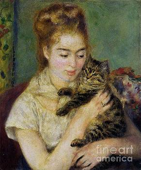 Renoir - Woman With A Cat