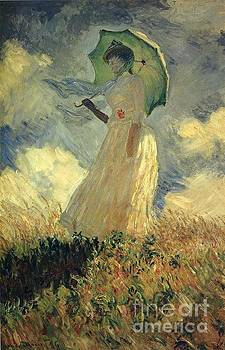 Monet - Woman With A Parasol