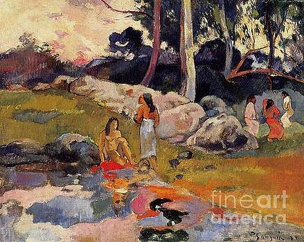 Gauguin - Women At The Banks Of The River