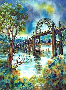 Yaquina Bay Bridge by Ann Nicholson