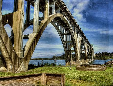 Thom Zehrfeld - Yaquina Bay Bridge From South Beach