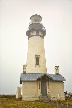 Yaquina Bay Lighthouse  by Byron Fair