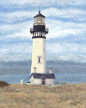 Yaquina Head by Ida Brown