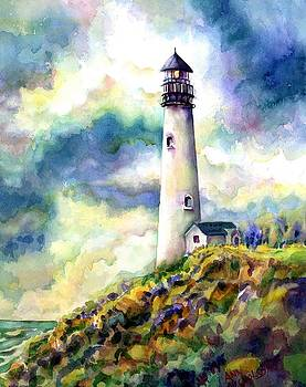 yaquina Head Lighthouse by Ann Nicholson