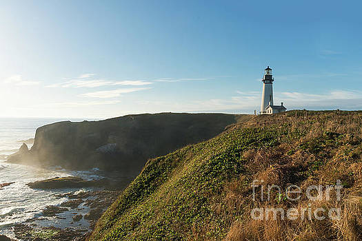 Yaquina Lighthouse by Craig Leaper