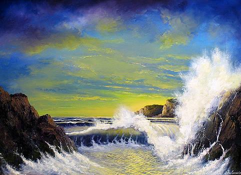 Yellow Light by John Cocoris