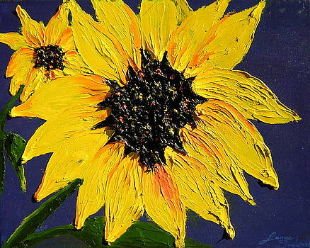 Yellow Sunflowers by Portland Art Creations