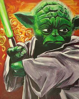 Yoda by Kate Fortin