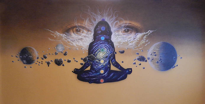Yoga For You Wall Mural by Wayne Pruse