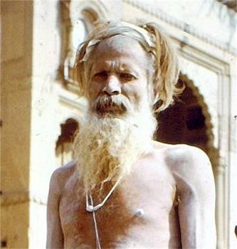 Yogi Benares. India by Barron Holland