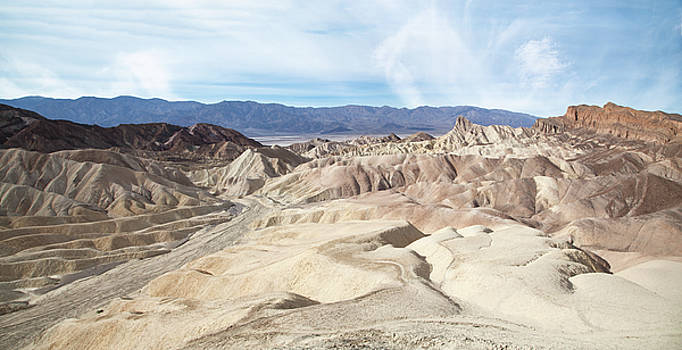 Zabriskie Point Landscape by Marius Sipa